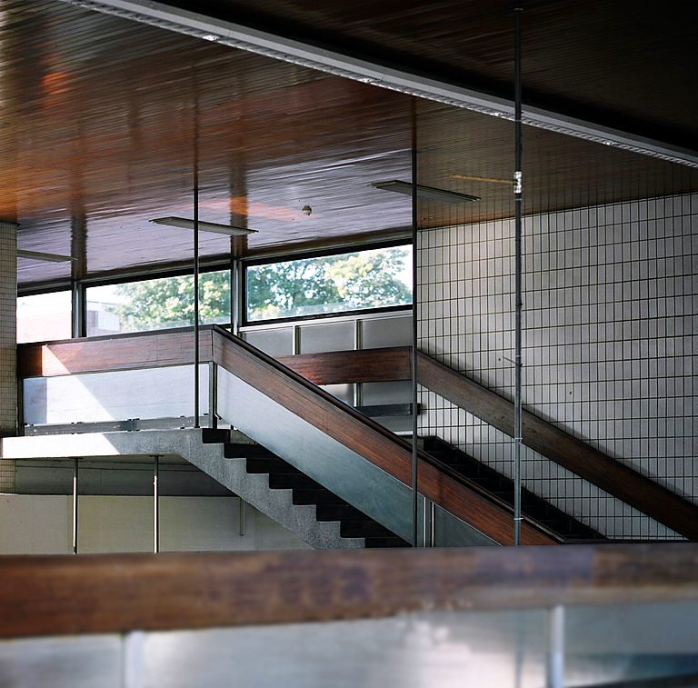 Coventry railway station staircase