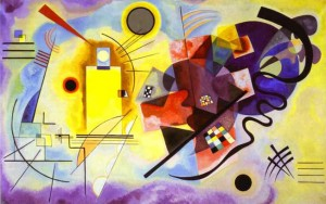 """""""Yellow Red Blue"""" (1925)"""