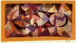 Ab ovo (1917), by Paul Klee