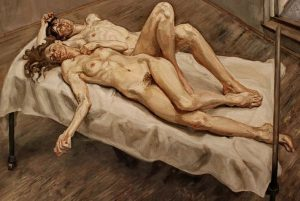 Lucien Freud, Two Women