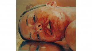 Jenny Saville 'Reverse' (2002-3) © Jenny Saville. Courtesy of the artist and Gagosian.
