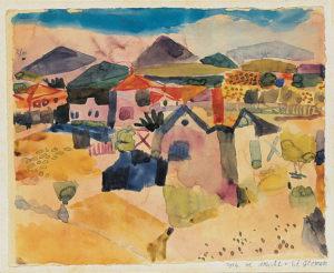 View of Saint Germain (1914) by Paul Klee