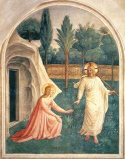 Fra Angelico Noli Me Tangere