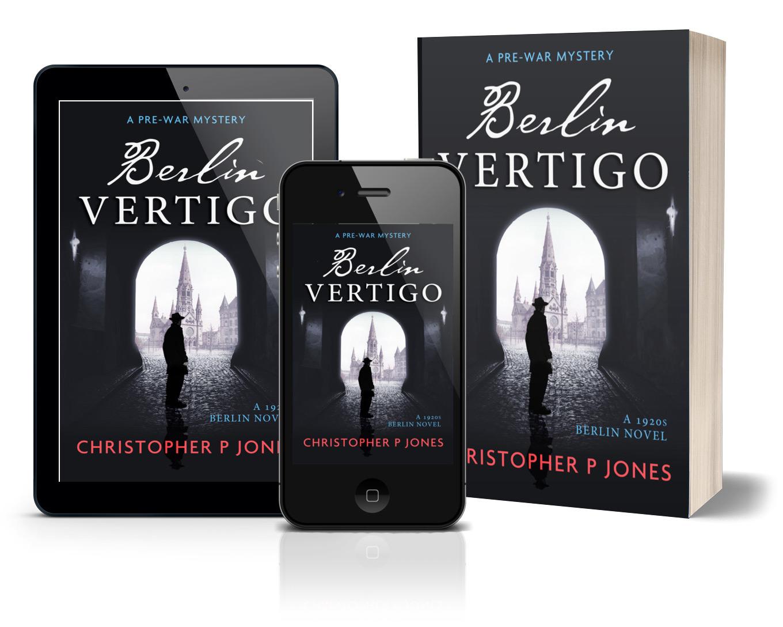 Berlin Vertigo novel by Christopher P Jones