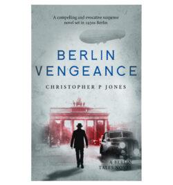 Berlin Vengeance novel cover