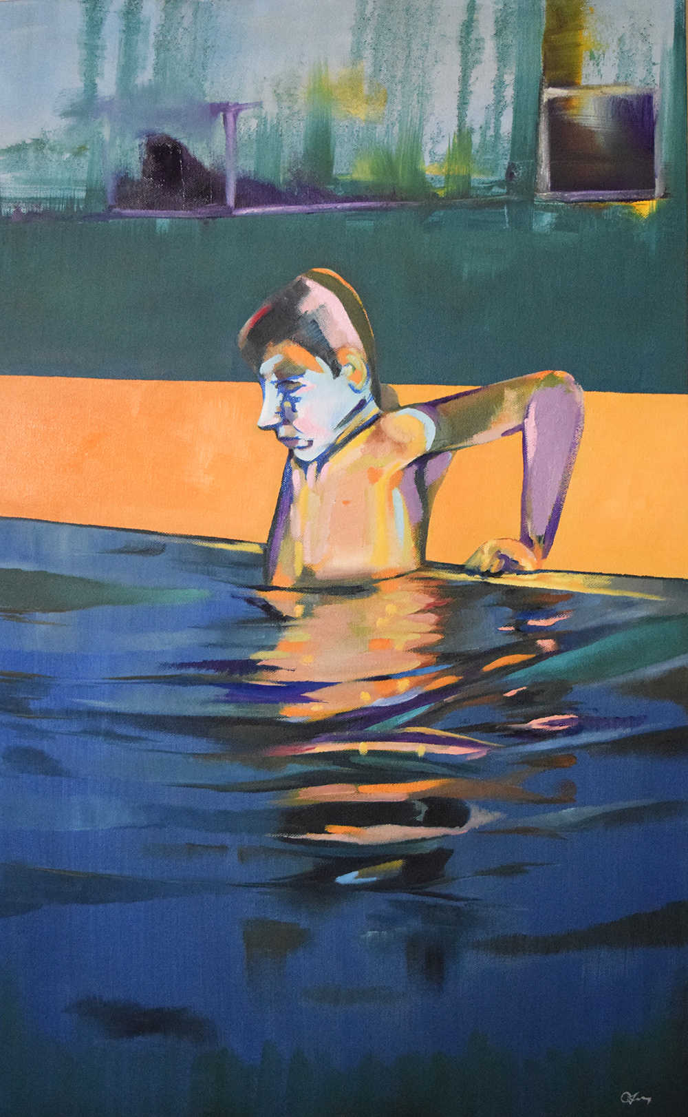 Swim by Christopher P Jones